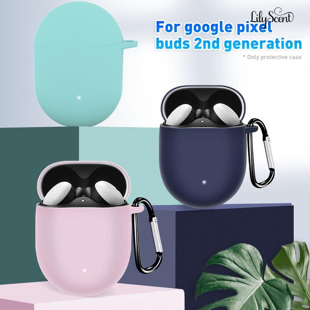 新秀3C數碼 適用於google pixel buds2谷歌真無線藍牙耳機保護套矽膠套