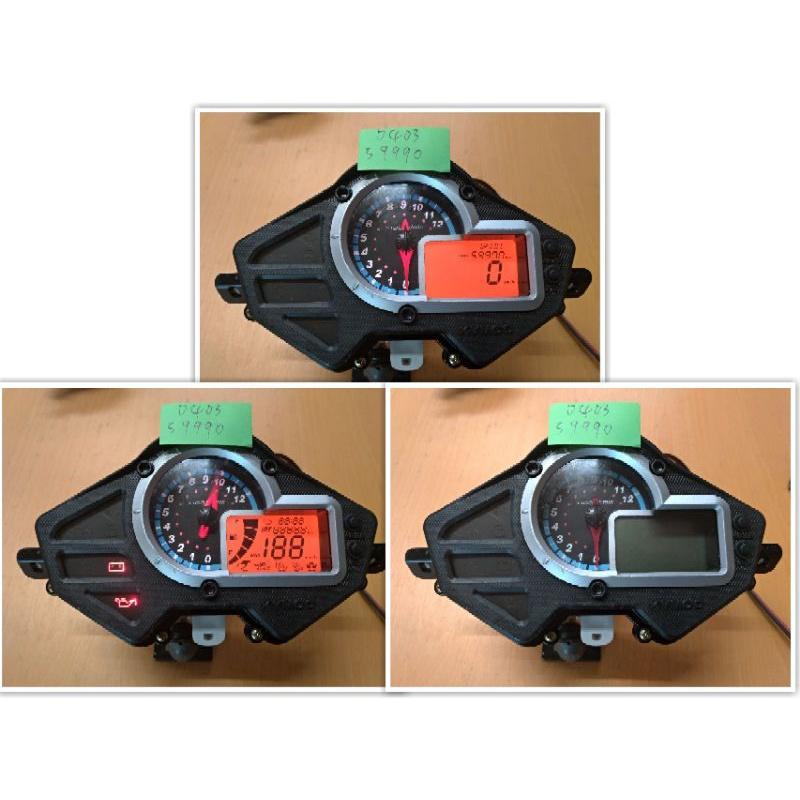 (中一儀表) vjr110 噴射 二手儀表板 偏光摸更換 與按鍵更換 保固三個月