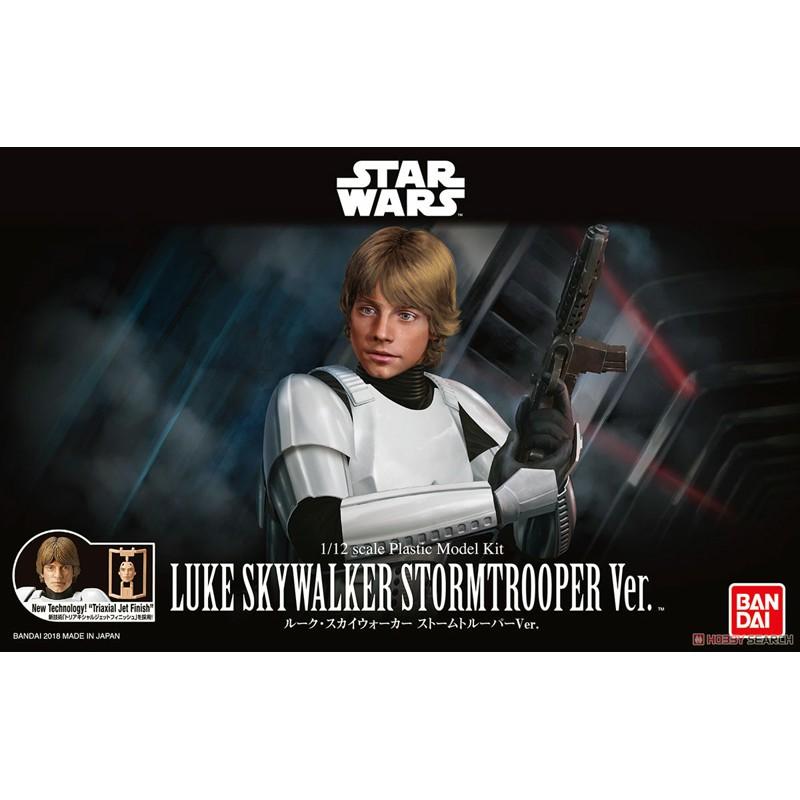 玩具e哥 組裝模型 星際大戰 STAR WARS 1/12 路克 天行者 帝國風暴兵 25755