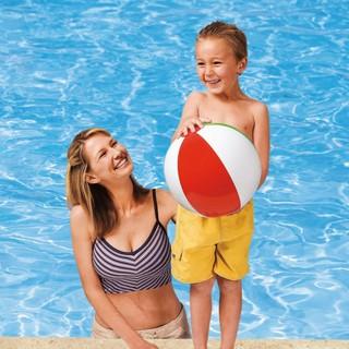 INTEX 59020 四色沙灘球  海灘球 戲水玩具球 充氣球 玩具