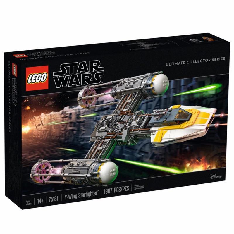 [ 愛理不理 ]LEGO 樂高 75181 STAR WARS 星際大戰系列 Y-Wing Starfighter