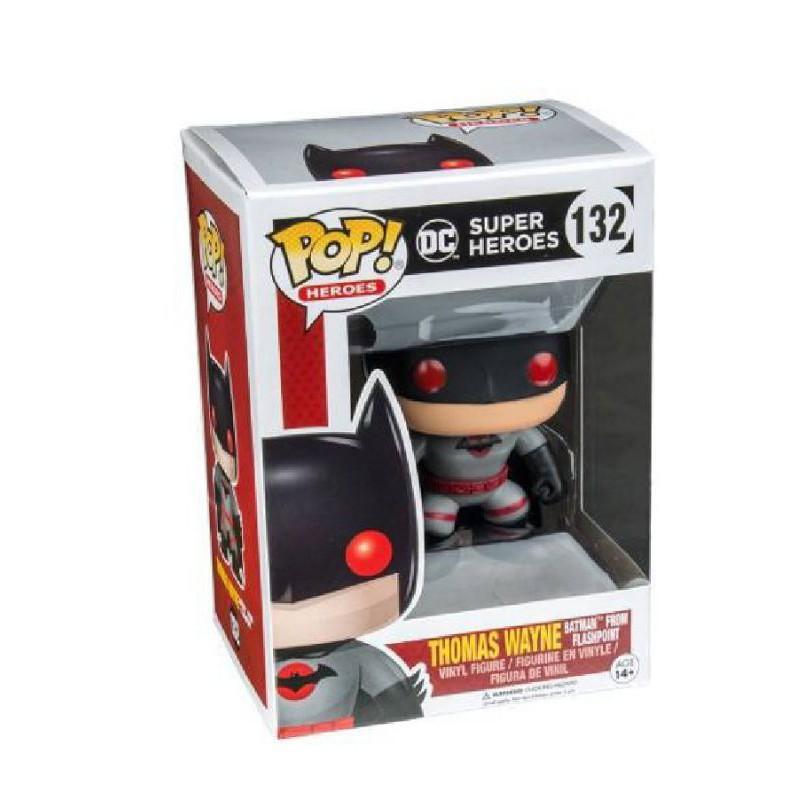 柴寶趣 FUNKO POP 132 閃點  蝙蝠俠 托馬斯 韋恩 湯瑪士 DC BATMAN 正版