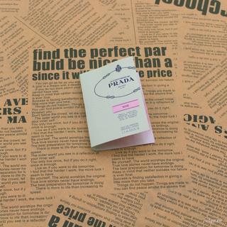 Prada 普拉達 rose 玫瑰原裝噴瓶香水小樣1.5ml 女性成熟現貨支持信用卡禮品閨蜜老婆禮物信用卡 新竹市