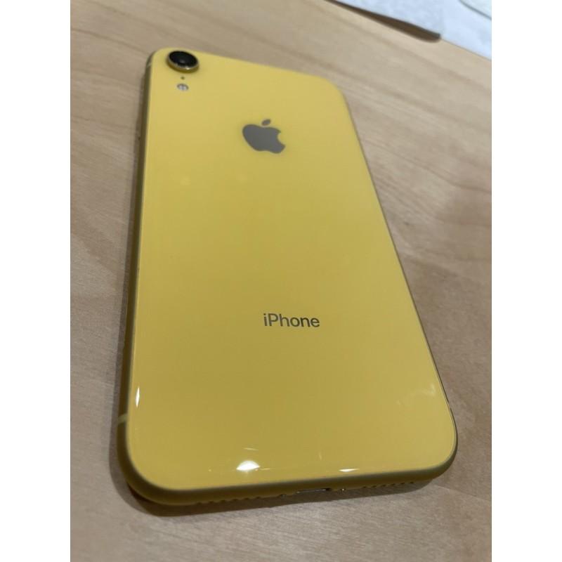 iPhone XR 128GB 二手(8成新)附配件及多一滿版保護膜