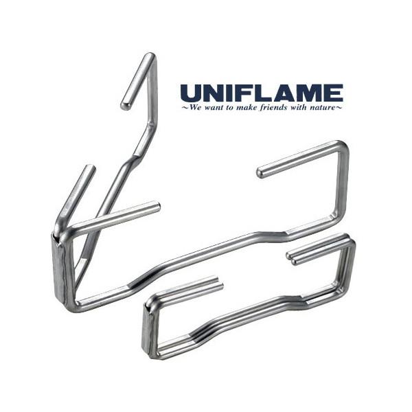 【UNIFLAME 日本】不鏽鋼荷蘭鍋疊鍋架 不鏽鋼隔熱架 661291【阿爾卑斯戶外】