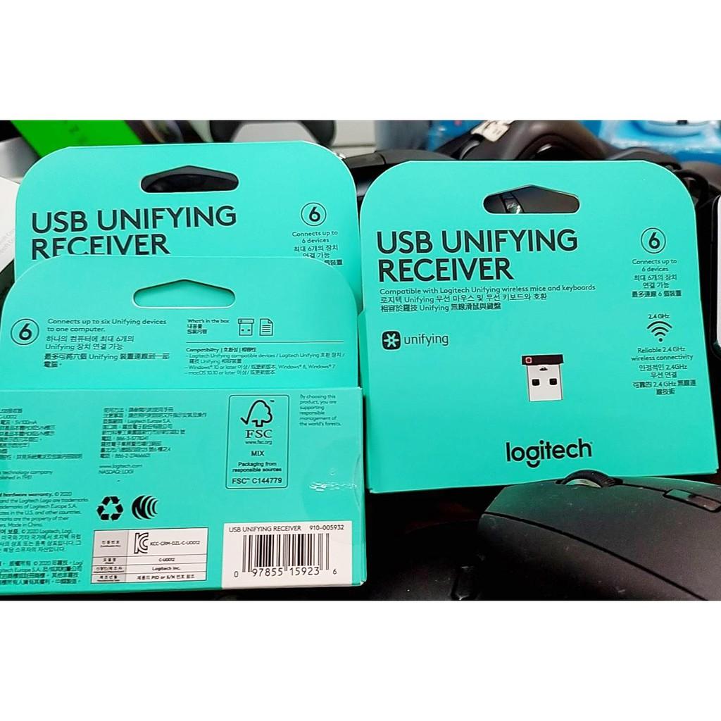 【本店吳銘】 羅技 logitech usb unifying receiver 迷你型 無線接收器 無線接受器