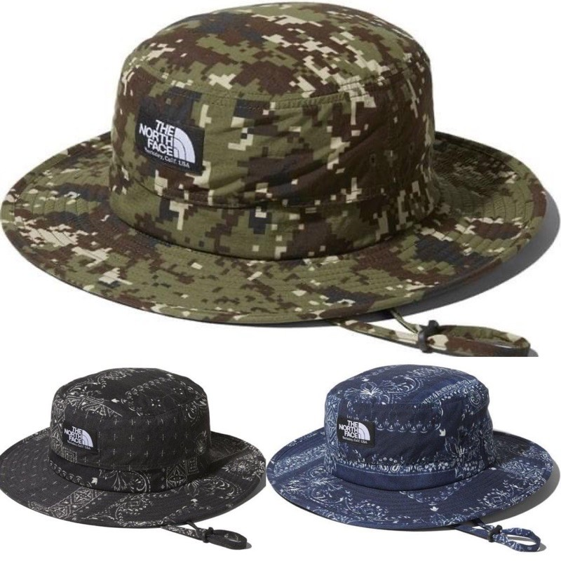 現貨 日本 北臉 THE NORTH FACE NOVELTY HORIZON HAT 漁夫帽 迷彩 NN01708