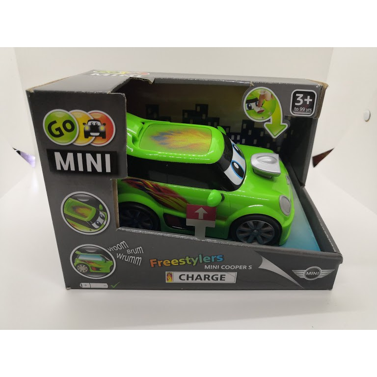 MINI COOPER S 玩具車  【GO MINI Freestylers CHARGE】