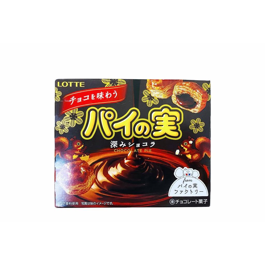 LOTTE 巧克力千層派盒 69g