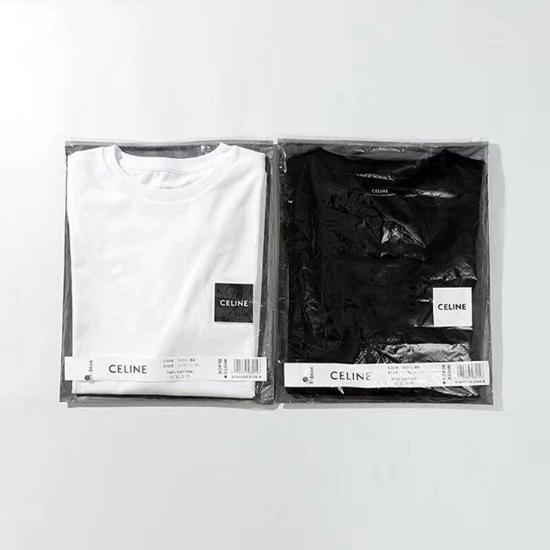 CELINE黑、白短袖T恤