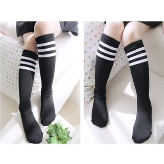女童 2015 春秋運動兒童襪子棉質 黑白條紋學生中筒襪 英倫兒童襪 台南市