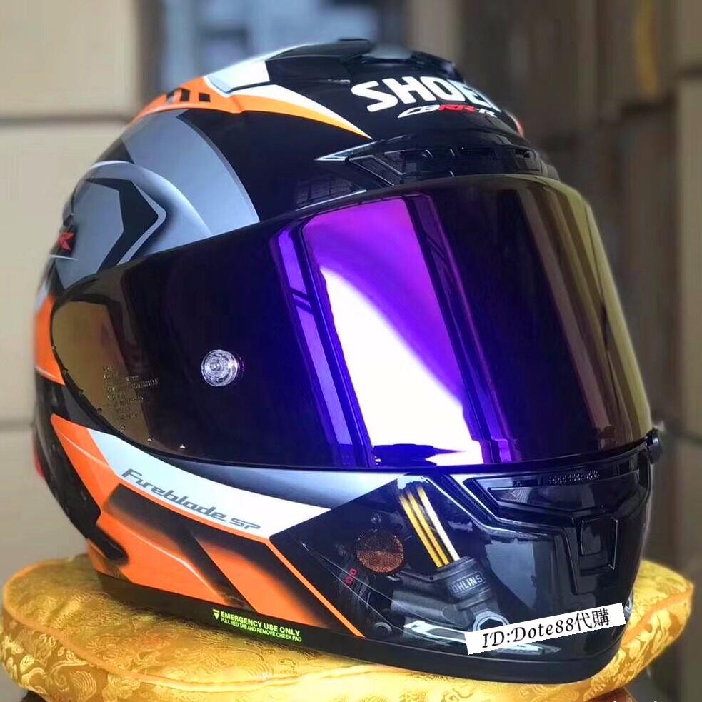 SHOEI X14頭盔 本田全盔摩托車CBR安全帽HRC頭盔 汽機車騎士用品 四季防霧全罩頭盔 賽車機車 ABS材質