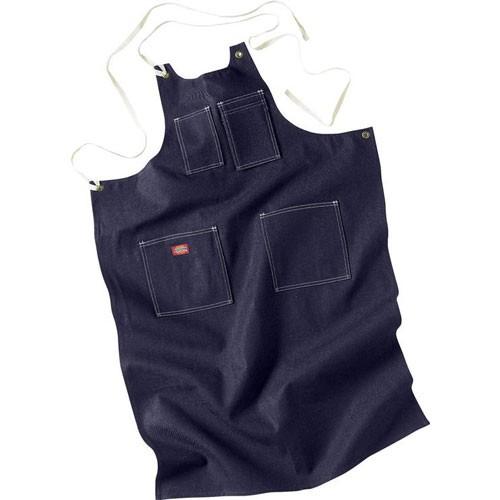 【DICKIES】AC20 Toolmaker's Denim Apron 丹寧 機能 工作圍裙 (深藍) 化學原宿