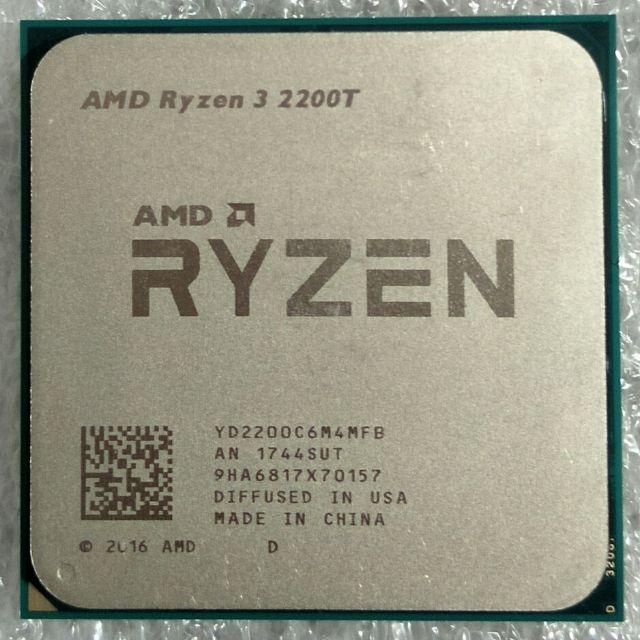 AMD AM4 四核 R3 Ryzen 3 2200GE 3 2G (up 3 6G) 4C/4T 散裝正式版