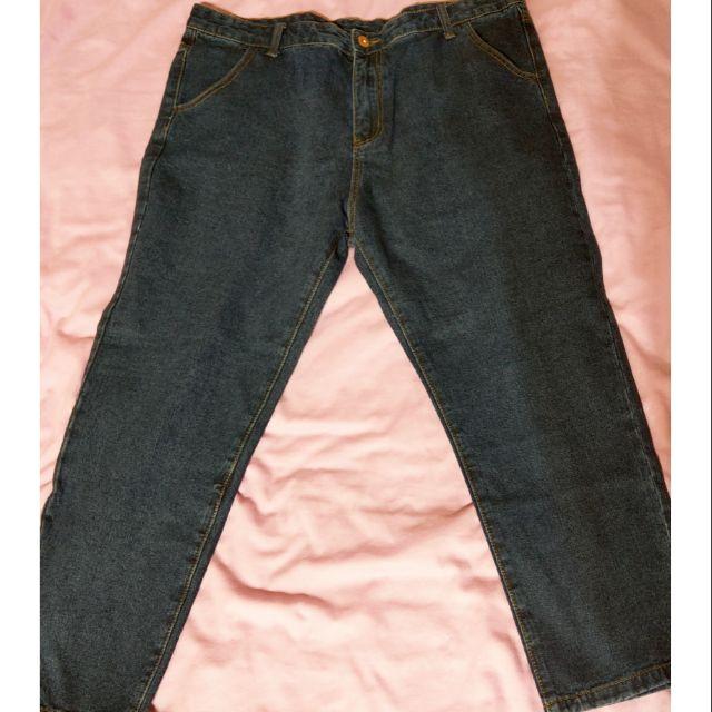 大尺碼牛仔褲