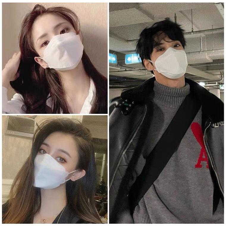 韓版KF94 魚嘴型口罩 3D立體口罩 男女時尚口罩 成人口罩