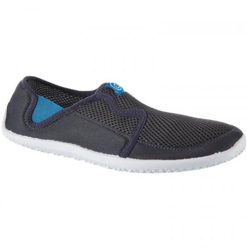 迪卡儂 成人透氣防滑浮潛水陸兩用鞋(附鞋墊) 44-45