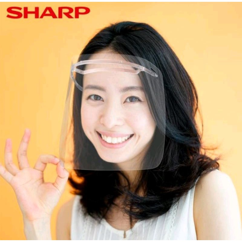 SHARP夏普奈米蛾眼科技防護面罩
