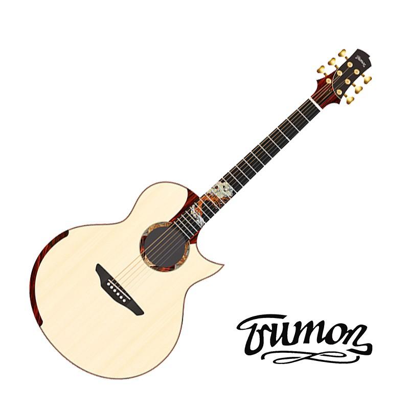 楚門吉他 Trumon Grows 萬物生長 雲杉木 全單 41吋 民謠吉他 - 【他,在旅行】