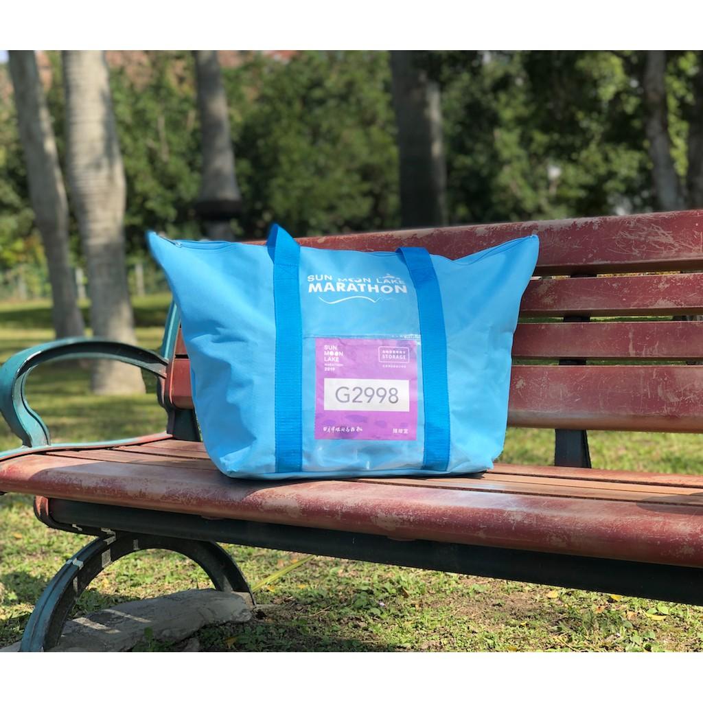 日月潭環湖馬拉松路跑衣保袋 Marathon Running Bag_Sky Blue  寄物袋 手提袋 行李袋