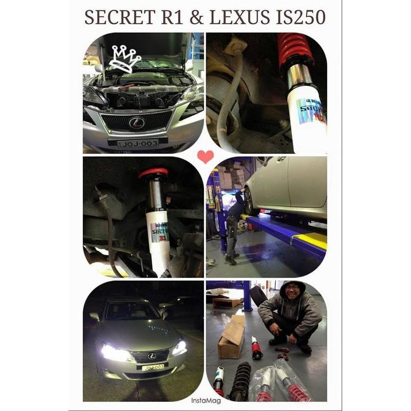 ★Secret★手工量身訂製避震器凌志/Lexus IS200 IS250 GS300 CT200H LS SC ES