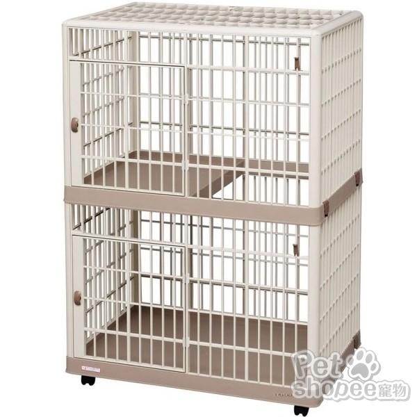 IRIS 雙層樹脂寵物貓籠 812