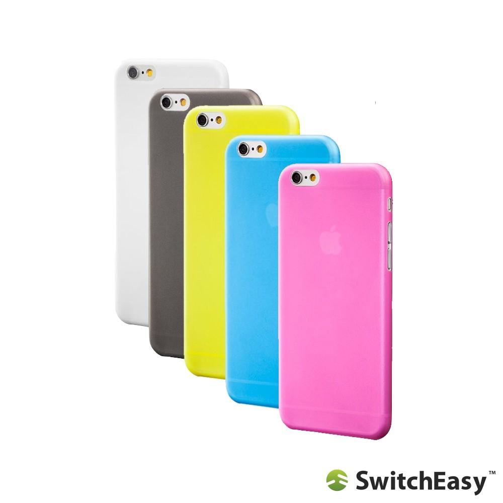 SwitchEasy iPhone 6/6s (4.7吋) + 6/6s Plus(5.5吋)0.35mm超薄 保護殼