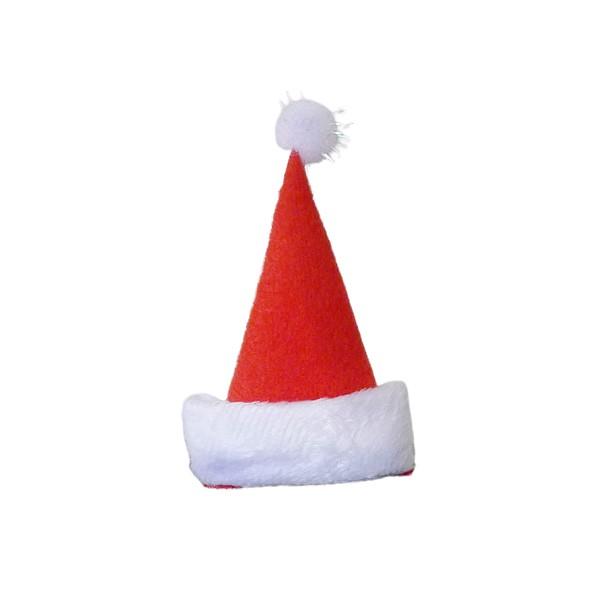 8113 聖誕帽造型髮夾-1入 耶誕夾 聖誕裝扮 聖誕節
