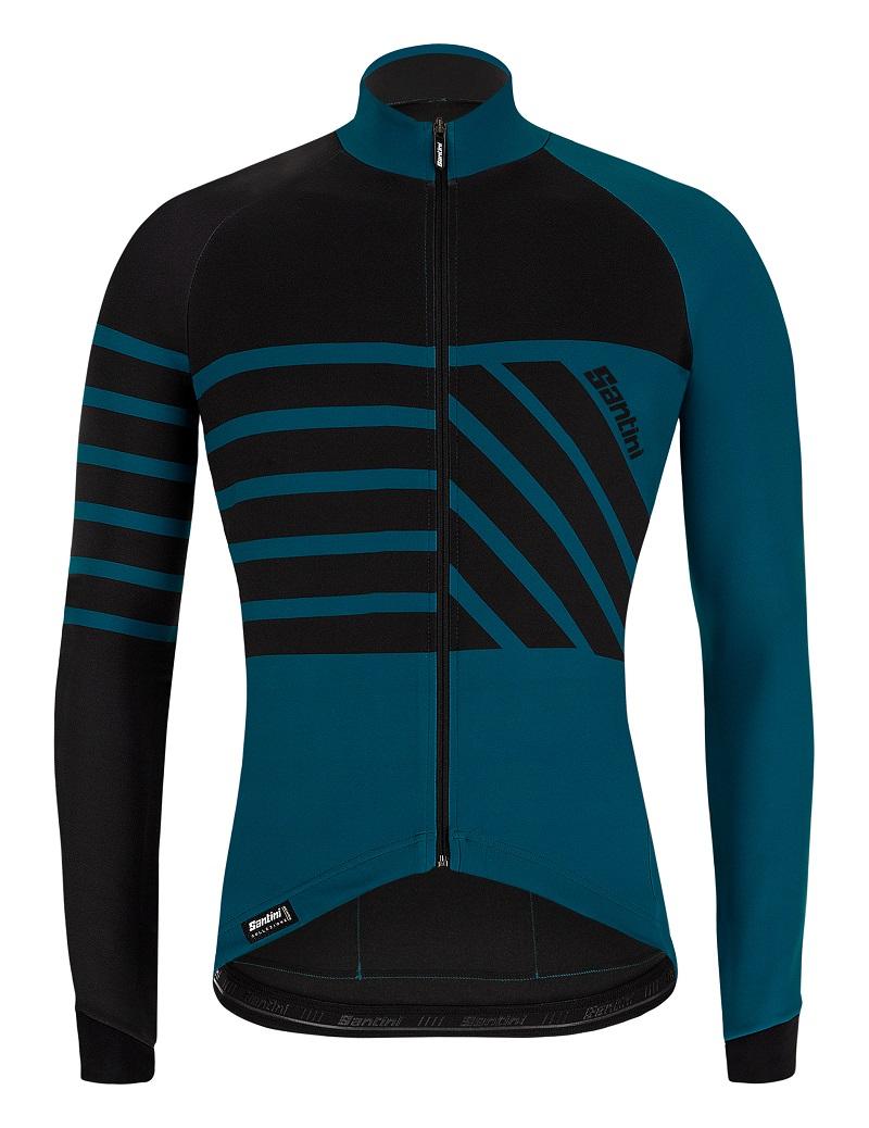 SANTINI SMS 專業秋季長袖賽車運動衫 MTB 山地自行車公路自行車騎行上衣
