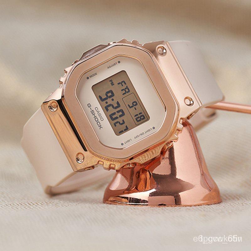新品速遞卡西歐G-SHOCK GM-S5600PG-4/G-7/5600-1/B-1/3 電子運動男腕手錶 xSmf c