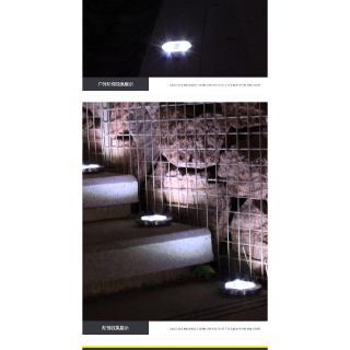 太陽能地埋燈8LED不鏽鋼戶外新款插地草地燈庭院花園防雨 太陽能分體壁燈 LED燈 戶外防水庭院燈 太陽能壁燈
