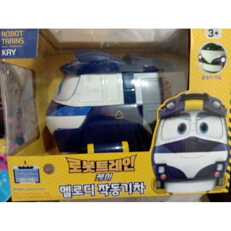 【YJ小舖】韓國代購 變形火車 聲光  robot trains