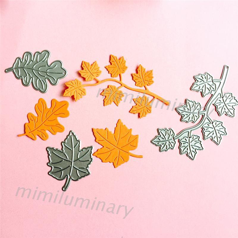 IVY 楓葉切割模模板,剪貼簿,相冊壓花卡,DIY工藝裝飾