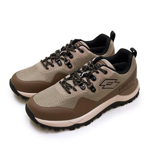 【LOTTO】專業防水郊山戶外越野跑鞋 FALCO隼系列 咖棕黑 2551 男