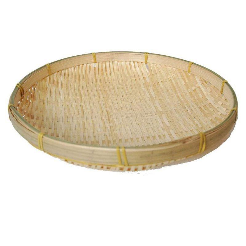 桌面收納 竹製收納籃 饅頭筐 圓形小簸箕 農家竹製品 收納籃 手工編織收納籃 拍照道具 水果盤 廚房收納