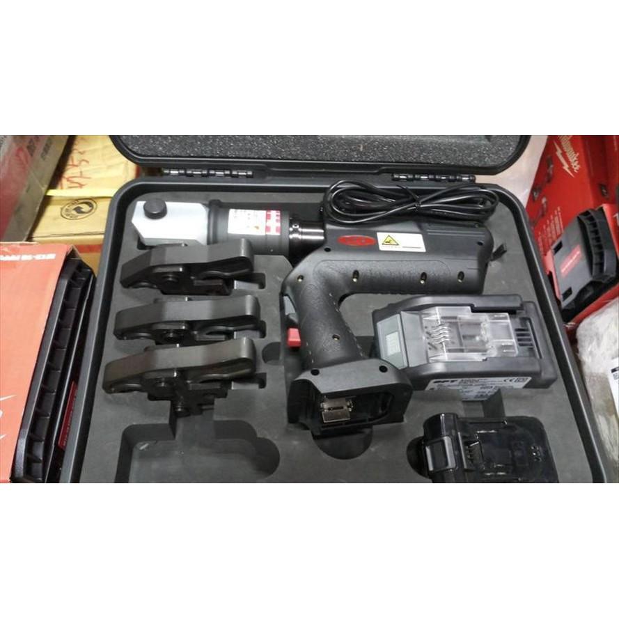 【優質五金~貨到付款免運費】OPT EWSB-1 充電式油壓(18V鋰電池)不鏽鋼水管壓接機含模具 非FU-1080A