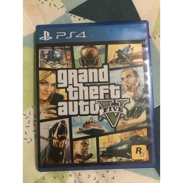 PS4 GTA5 二手