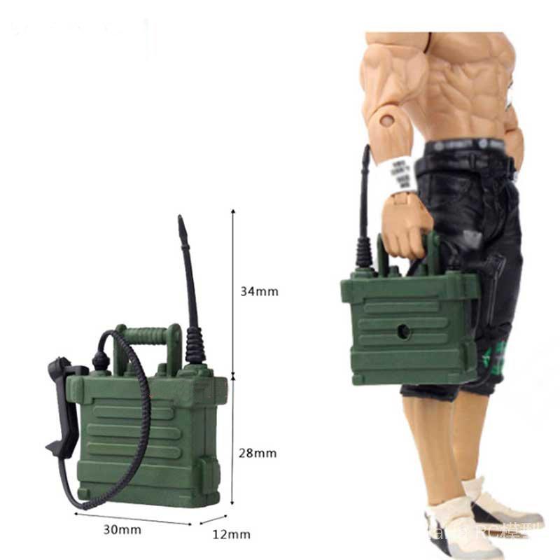 模型攀爬車裝飾件 仿真無線電話 TRX4 SCX10 90046 D90 現貨