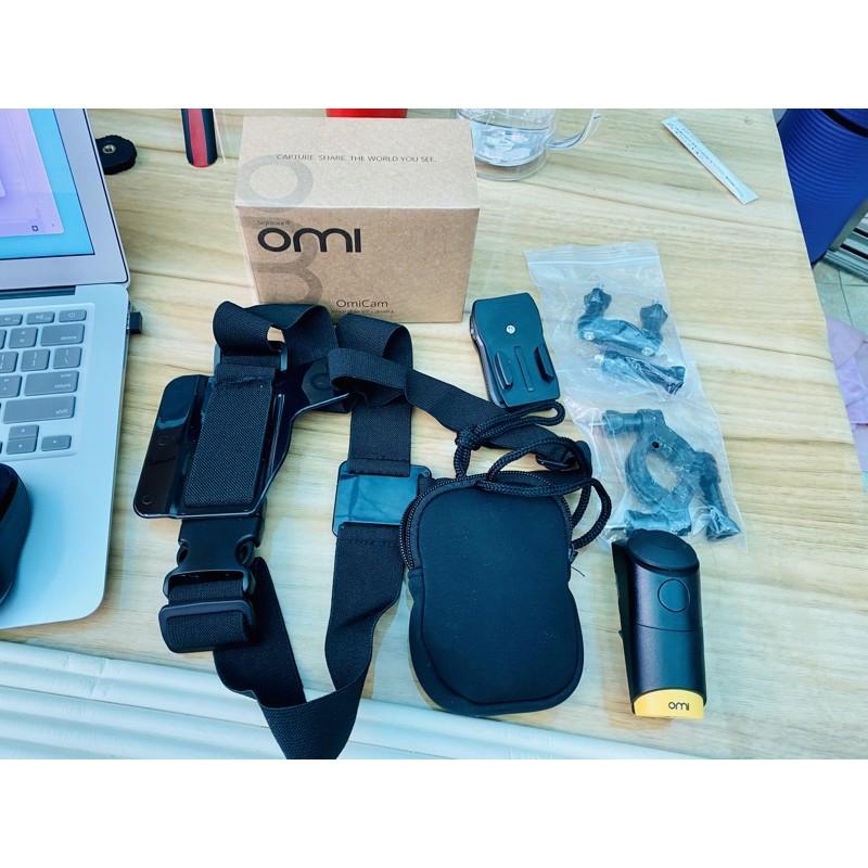 OmiCam 穿戴式全景攝影影機(含配件)