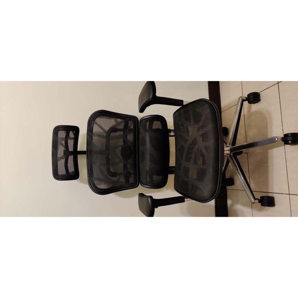 Ergohuman 111 單桿版 人體工學椅 鋁合金腳 雲彩黑 保固中電腦椅