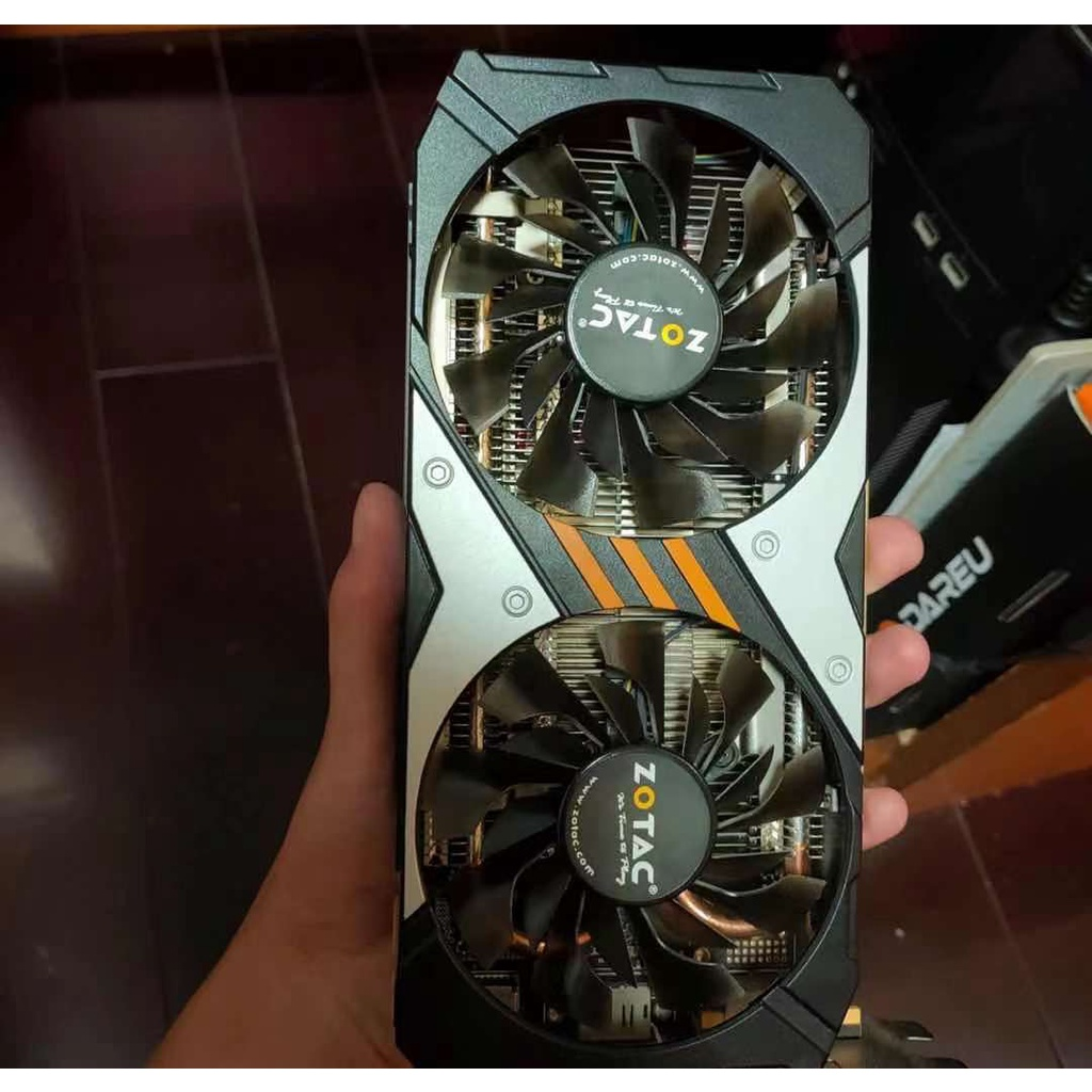 Nvidia 顯卡 - gtx960 2GB DDR5 zotac 破壞器圖形卡!