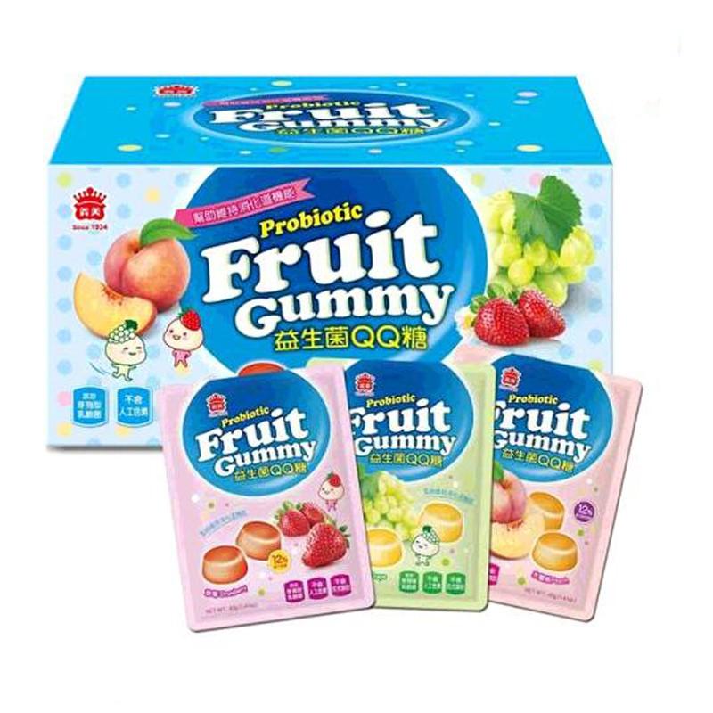 義美 益生菌果汁 QQ糖 40公克 X 30包 I-Mei Probiotic Fruit Gummy C130043