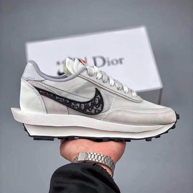 韓國代購Sacai x Nike LVD x Dior 聯名 迪奧 解構 慢跑鞋 運動鞋 時尚 潮流