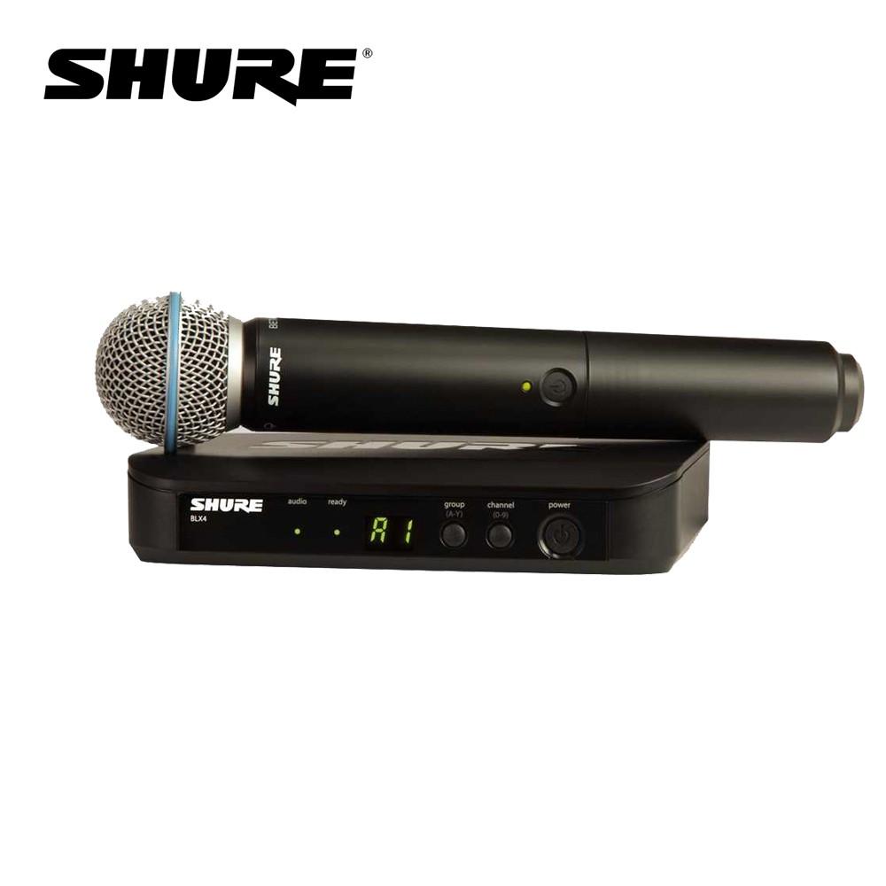 Shure BLX24/BETA58 無線麥克風組 系統搭配 BETA58 麥克風【敦煌樂器】