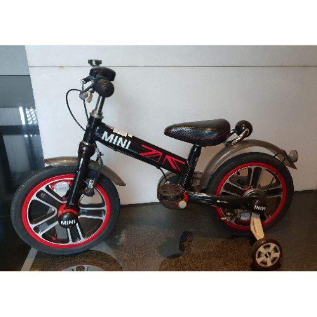 台中ikea限自取 二手台灣授權 英國Mini Cooper 腳踏車14吋