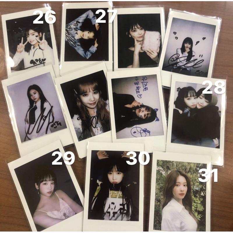 izone拍立得紀念 小卡 周邊 收藏 AKB48