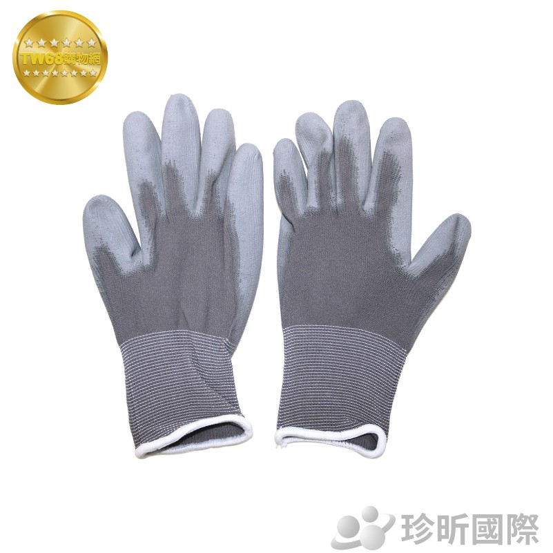 PU工作手套 約21cm|3款可選|S、M、L|乳膠手套|防滑手套|尼龍手套|防割手套【TW68】
