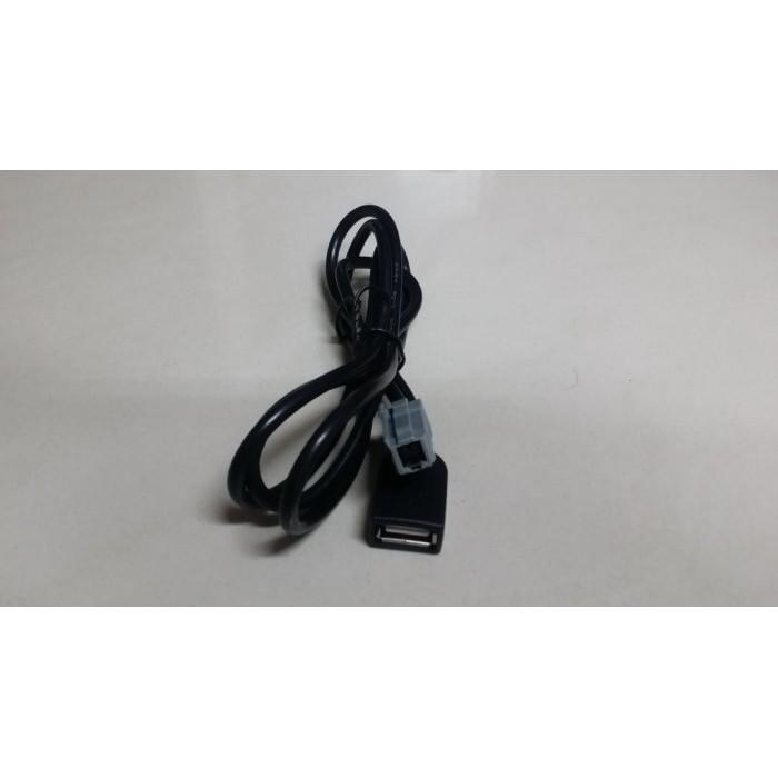 豐田TOYOTA-CAMRY,VIOS,ALTIS,RAV4,WISH原廠音響主機外接隨身碟 MP3 USB音源線