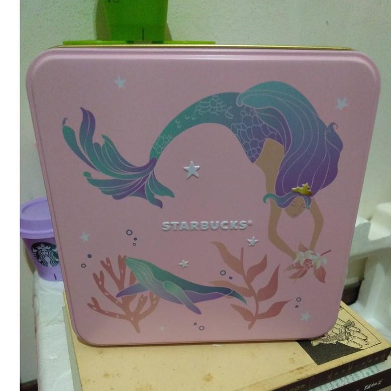 Starbucks 星巴克 綜合餅乾禮盒 鐵盒 女神紀念版 收納盒 收藏 禮物盒子