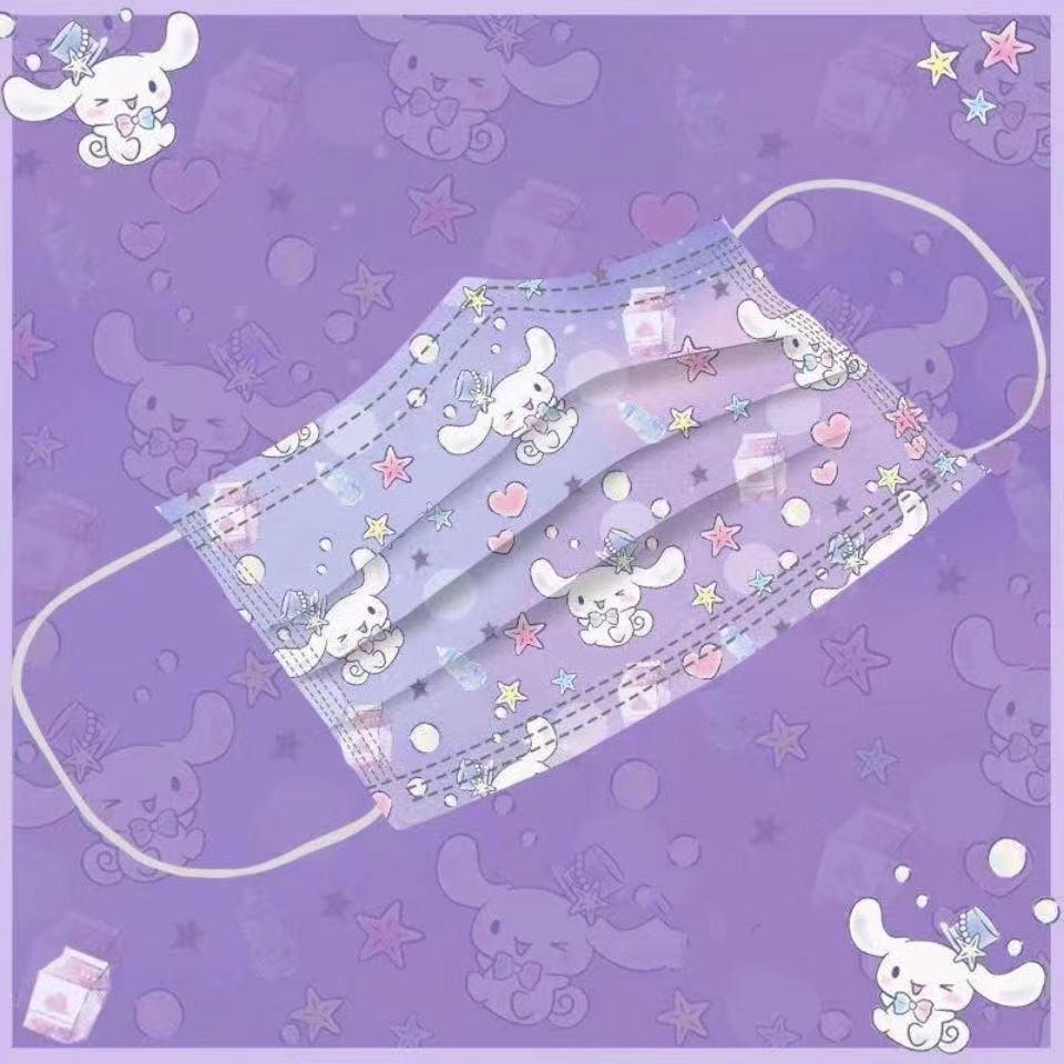 【限時下殺】KF94 可愛玉桂狗一次性立體魚型成人一次性口罩 印花口罩 卡通口罩 成人口罩 兒童口罩